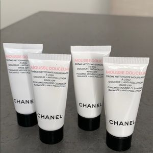Other - Chanel Mousse cleansers for normal to dry skin